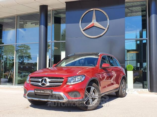 Mercedes GLC 250 d 204ch Executive 4Matic 9G-Tronic Rouge Jacinthe Designo Occasion - 0
