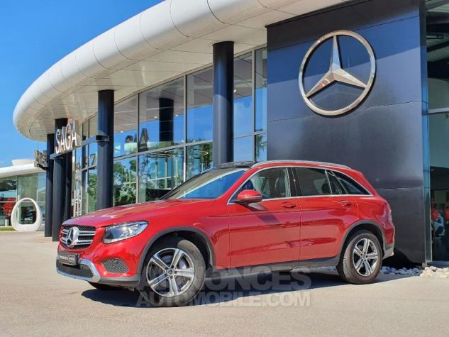 Mercedes GLC 250 d 204ch Executive 4Matic 9G-Tronic Rouge Jacinthe Designo Occasion - 7