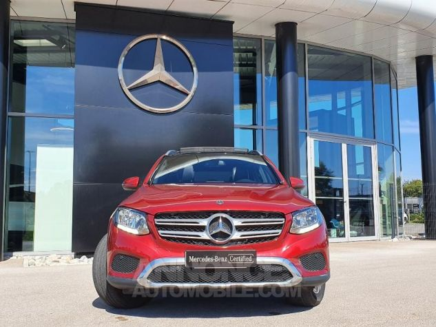 Mercedes GLC 250 d 204ch Executive 4Matic 9G-Tronic Rouge Jacinthe Designo Occasion - 17