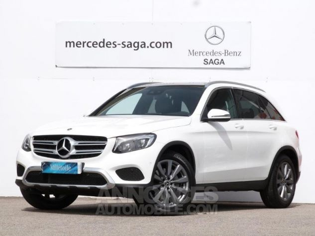 Mercedes GLC 250 d 204ch Fascination 4Matic 9G-Tronic Blanc polaire Occasion - 0