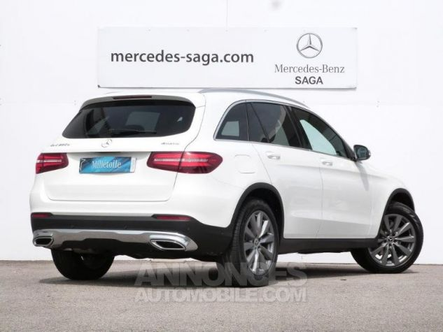 Mercedes GLC 250 d 204ch Fascination 4Matic 9G-Tronic Blanc polaire Occasion - 1