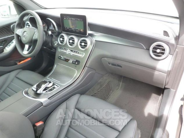 Mercedes GLC 250 d 204ch Fascination 4Matic 9G-Tronic Blanc polaire Occasion - 3