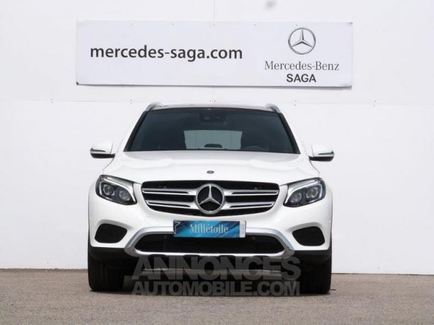 Mercedes GLC 250 d 204ch Fascination 4Matic 9G-Tronic Blanc polaire Occasion - 4