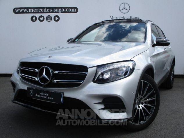 Mercedes GLC 250 d 204ch Fascination 4Matic 9G-Tronic Argent iridium métallisé Occasion - 0