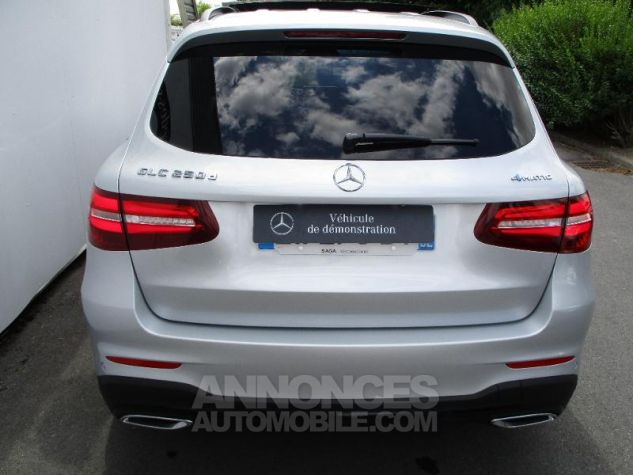 Mercedes GLC 250 d 204ch Fascination 4Matic 9G-Tronic Argent iridium métallisé Occasion - 4