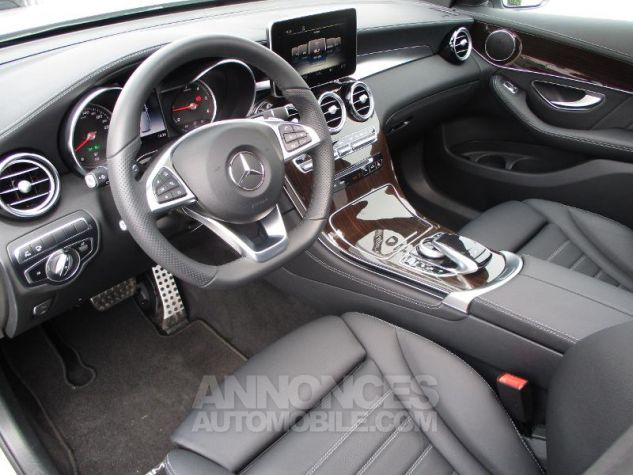 Mercedes GLC 250 d 204ch Fascination 4Matic 9G-Tronic Argent iridium métallisé Occasion - 7