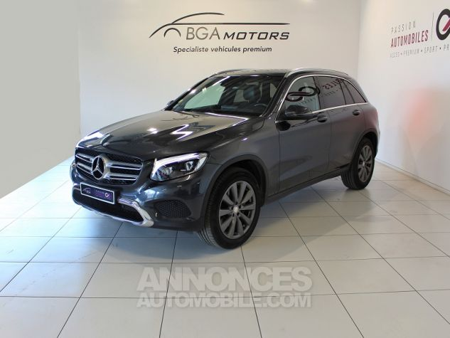 Mercedes GLC 250 D 204CH FASCINATION 4MATIC 9G-TRONIC GRIS Occasion - 0