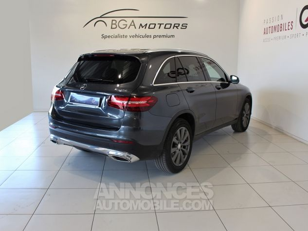 Mercedes GLC 250 D 204CH FASCINATION 4MATIC 9G-TRONIC GRIS Occasion - 1