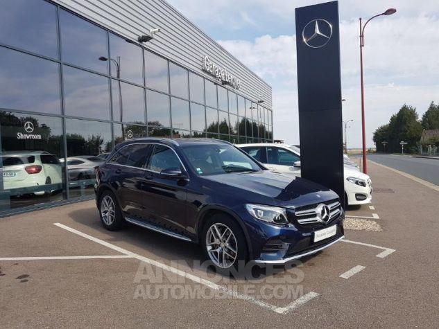 Mercedes GLC 250 d 204ch Sportline 4Matic 9G-Tronic Bleu Foncé Métal Occasion - 0
