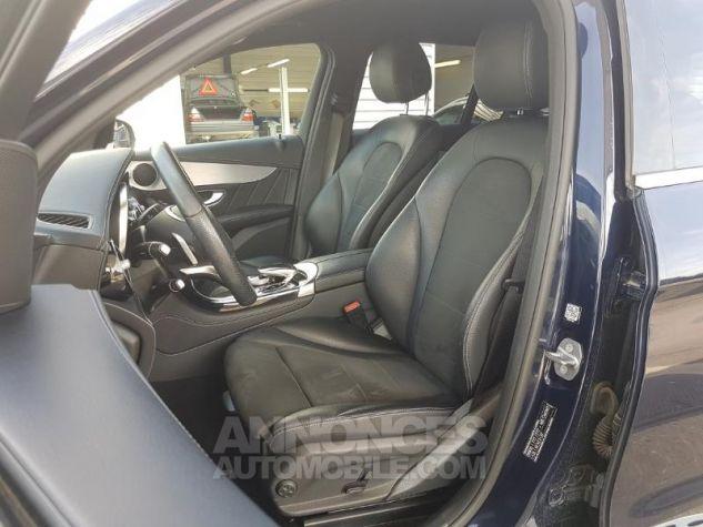 Mercedes GLC 250 d 204ch Sportline 4Matic 9G-Tronic Bleu Foncé Métal Occasion - 2