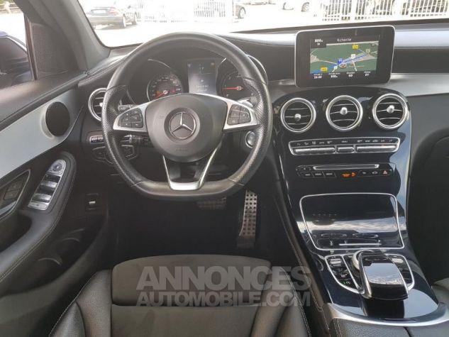Mercedes GLC 250 d 204ch Sportline 4Matic 9G-Tronic Bleu Foncé Métal Occasion - 3