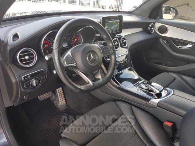Mercedes GLC 250 d 204ch Sportline 4Matic 9G-Tronic Bleu Foncé Métal Occasion - 11