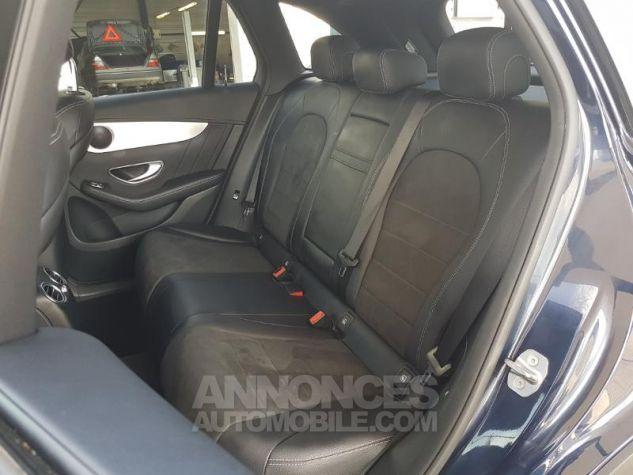 Mercedes GLC 250 d 204ch Sportline 4Matic 9G-Tronic Bleu Foncé Métal Occasion - 12