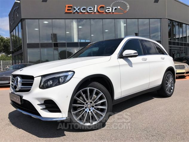Mercedes GLC 250D 204CH 4MATIC FASCINATION 9G-TRONIC Blanc Verni Occasion - 0