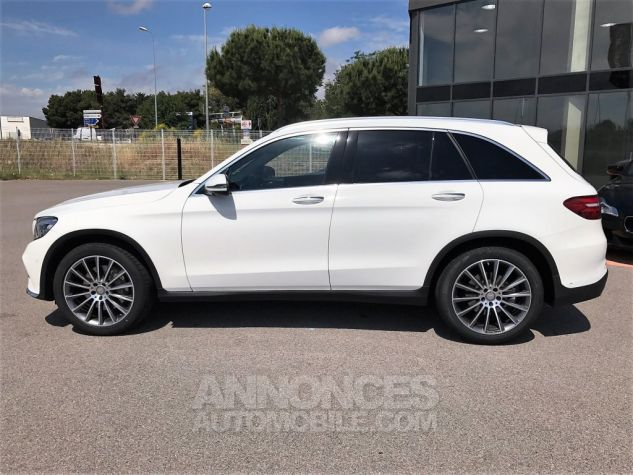 Mercedes GLC 250D 204CH 4MATIC FASCINATION 9G-TRONIC Blanc Verni Occasion - 2