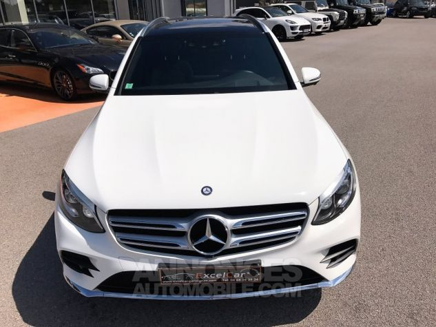 Mercedes GLC 250D 204CH 4MATIC FASCINATION 9G-TRONIC Blanc Verni Occasion - 3