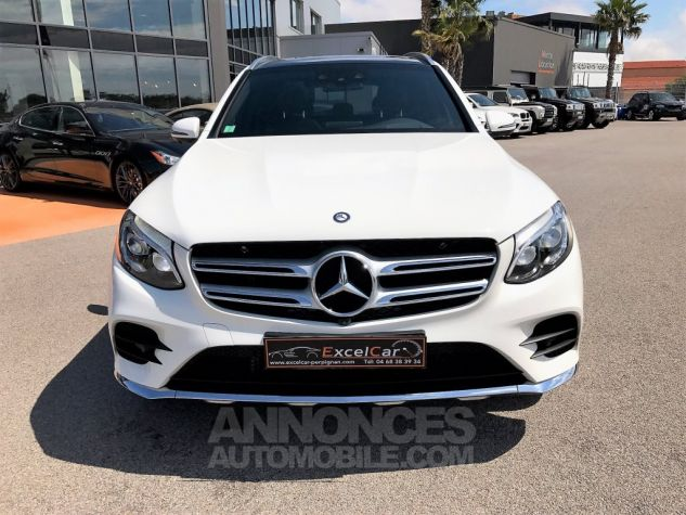 Mercedes GLC 250D 204CH 4MATIC FASCINATION 9G-TRONIC Blanc Verni Occasion - 4