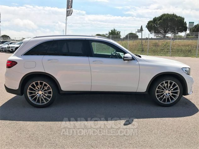 Mercedes GLC 250D 204CH 4MATIC FASCINATION 9G-TRONIC Blanc Verni Occasion - 5