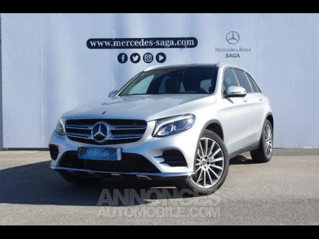 Mercedes GLC 350 d 258ch Fascination 4Matic 9G-Tronic GRIS CLAIR Occasion - 0