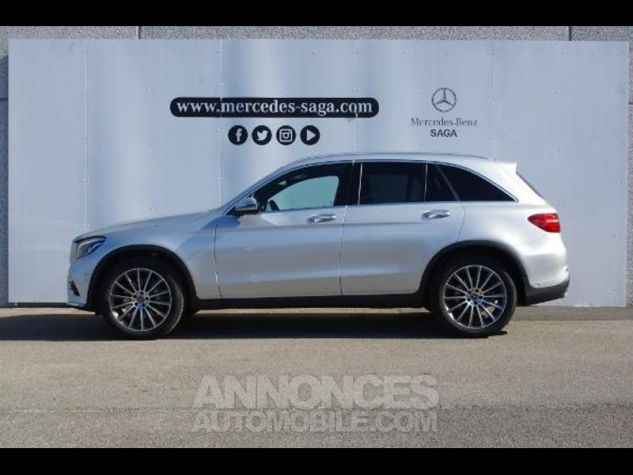 Mercedes GLC 350 d 258ch Fascination 4Matic 9G-Tronic GRIS CLAIR Occasion - 1