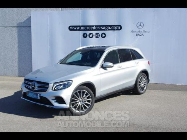 Mercedes GLC 350 d 258ch Fascination 4Matic 9G-Tronic GRIS CLAIR Occasion - 3
