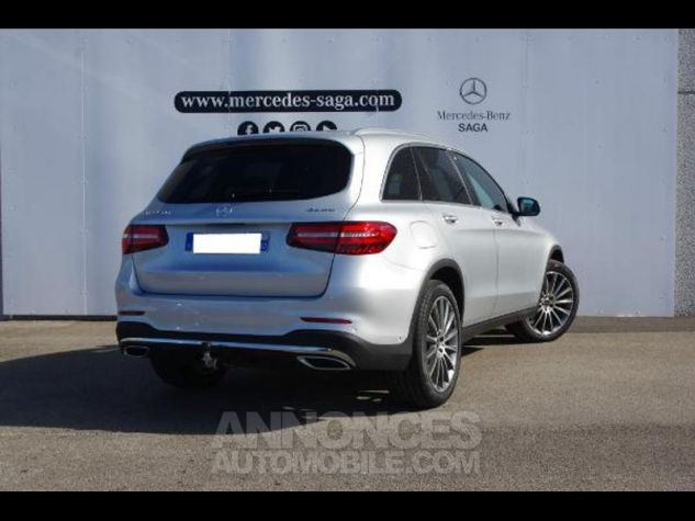 Mercedes GLC 350 d 258ch Fascination 4Matic 9G-Tronic GRIS CLAIR Occasion - 4