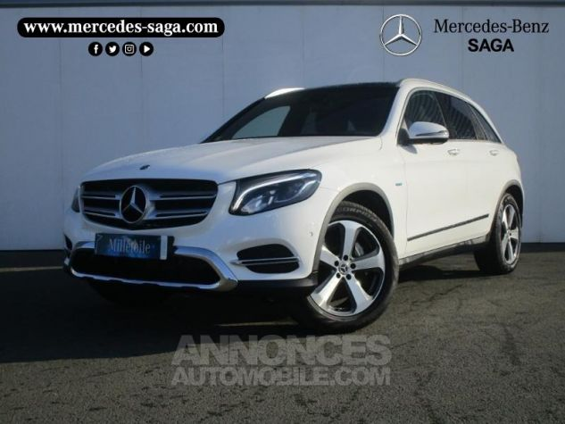 Mercedes GLC 350 e 211+116ch Fascination 4Matic 7G-Tronic plus BLANC POLAIRE Occasion - 0