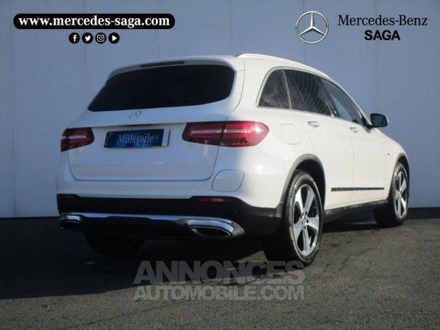 Mercedes GLC 350 e 211+116ch Fascination 4Matic 7G-Tronic plus BLANC POLAIRE Occasion - 1