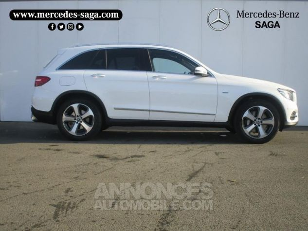 Mercedes GLC 350 e 211+116ch Fascination 4Matic 7G-Tronic plus BLANC POLAIRE Occasion - 2