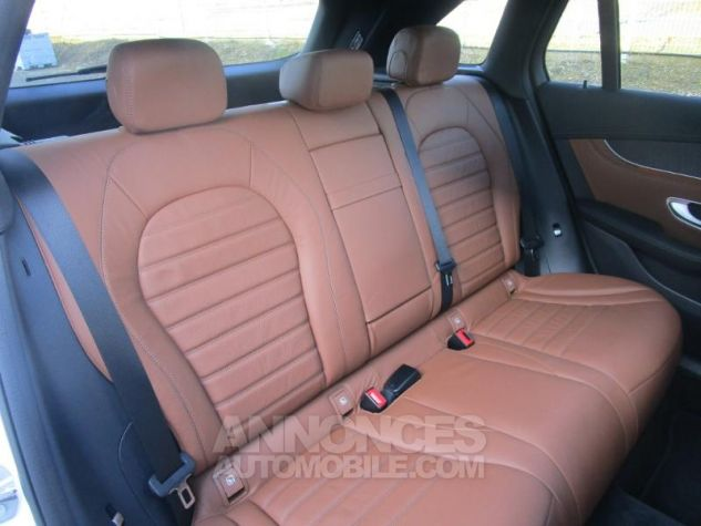 Mercedes GLC 350 e 211+116ch Fascination 4Matic 7G-Tronic plus BLANC POLAIRE Occasion - 6