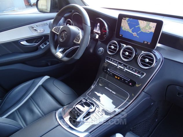 Mercedes GLC 63 AMG S 4-MATIC 510 CV - MONACO Gris Selentie Métal Occasion - 9