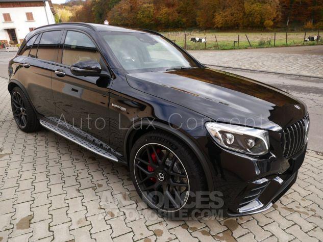 Mercedes GLC 63 S AMG 4MATIC, Toit pano, Distronic, Affichage tête haute, 360°, Sièges Performance, designo, Carbone, Attelage Noir Obsidienne métallisé Occasion - 1