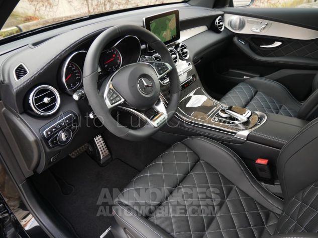 Mercedes GLC 63 S AMG 4MATIC, Toit pano, Distronic, Affichage tête haute, 360°, Sièges Performance, designo, Carbone, Attelage Noir Obsidienne métallisé Occasion - 4