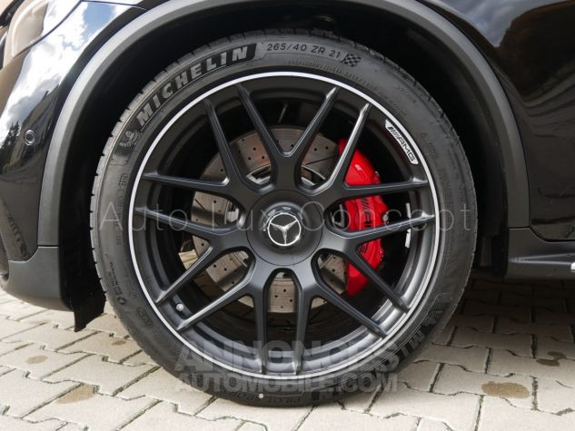 Mercedes GLC 63 S AMG 4MATIC, Toit pano, Distronic, Affichage tête haute, 360°, Sièges Performance, designo, Carbone, Attelage Noir Obsidienne métallisé Occasion - 10