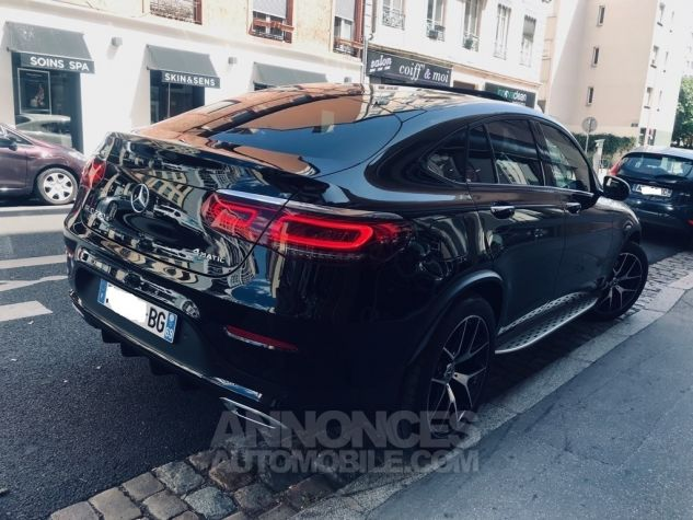 Mercedes GLC Coupé 220 D AMG Line noir Leasing - 1