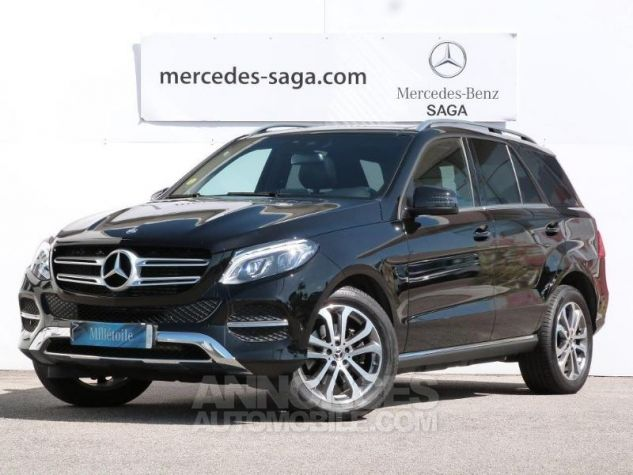Mercedes GLE 250 d 204ch Executive 4Matic 9G-Tronic Noir Obsidienne Occasion - 0