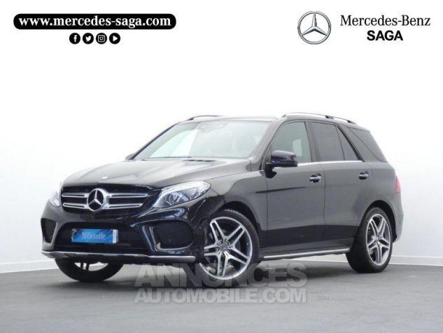 Mercedes GLE 250 d 204ch Fascination 9G-Tronic Noir Obsidienne Occasion - 0
