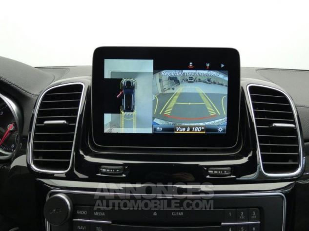 Mercedes GLE 250 d 204ch Fascination 9G-Tronic Noir Obsidienne Occasion - 8