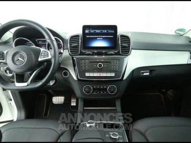 Mercedes GLE 250d 204 AMG Line Caméra cuir GPS blanc diamant métallisé Occasion - 4