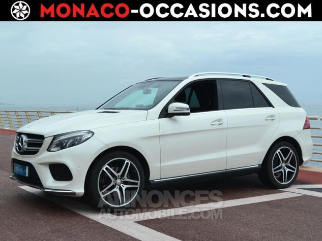 Mercedes GLE 350 d 258ch Fascination 4Matic 9G-Tronic Blanc Occasion - 0