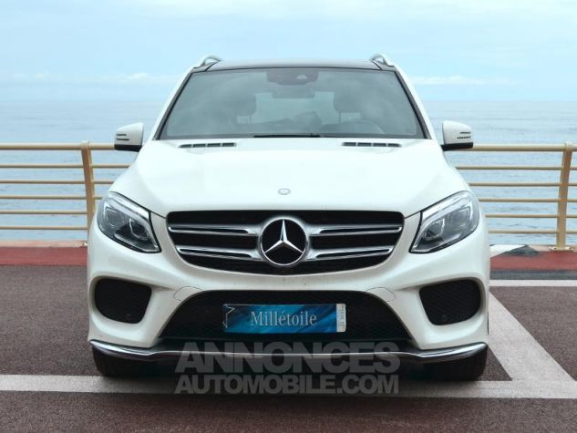 Mercedes GLE 350 d 258ch Fascination 4Matic 9G-Tronic Blanc Occasion - 1