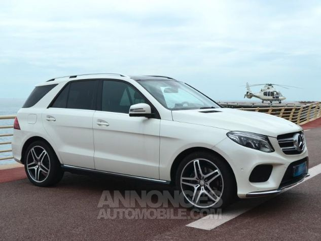 Mercedes GLE 350 d 258ch Fascination 4Matic 9G-Tronic Blanc Occasion - 2