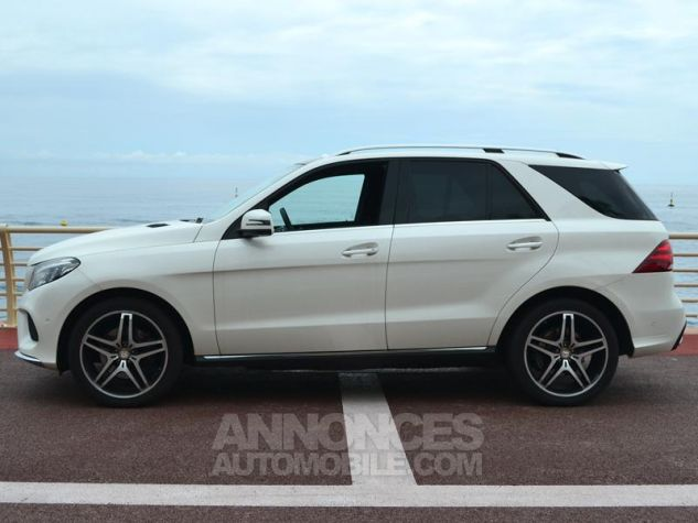Mercedes GLE 350 d 258ch Fascination 4Matic 9G-Tronic Blanc Occasion - 7