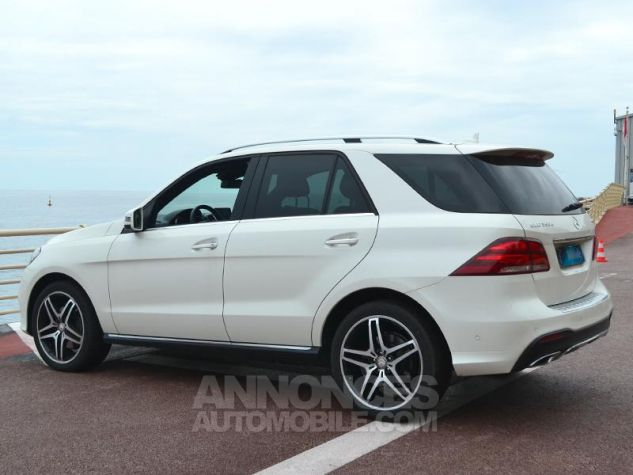 Mercedes GLE 350 d 258ch Fascination 4Matic 9G-Tronic Blanc Occasion - 8