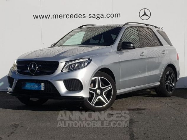 Mercedes GLE 350 d 258ch Fascination 4Matic 9G-Tronic Argent iridium Occasion - 0