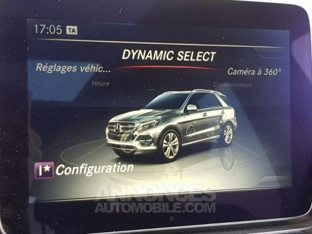 Mercedes GLE 350 d 258ch Fascination 4Matic 9G-Tronic Argent iridium Occasion - 14