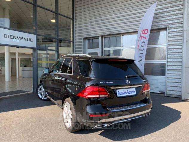 Mercedes GLE 350 d 258ch Fascination 4Matic 9G-Tronic Noir obsidienne Occasion - 3