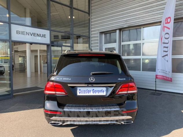 Mercedes GLE 350 d 258ch Fascination 4Matic 9G-Tronic Noir obsidienne Occasion - 4