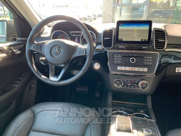 Mercedes GLE 350 d 258ch Fascination 4Matic 9G-Tronic Noir obsidienne Occasion - 8