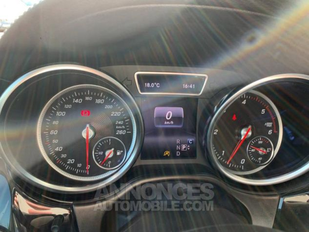 Mercedes GLE 350 d 258ch Fascination 4Matic 9G-Tronic Noir obsidienne Occasion - 13